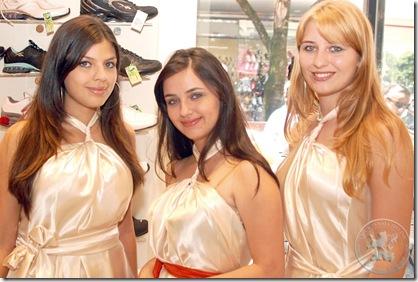 Thaís, Thalita e Bruna