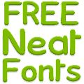 Neat Fonts for FlipFont free 3.16.1 icon
