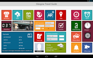 Screenshot of Glasgow Travel - Pangea Guides