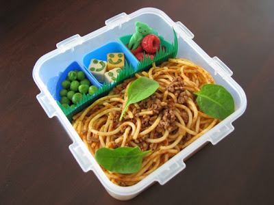 spaghetti bolog bento