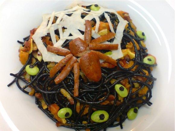 spider pasta