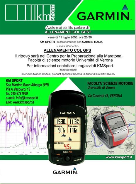 2008-07-11 kmday - Allenamento con il GPS
