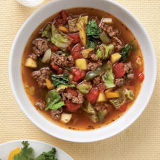 Sweet & Sour Beef-Cabbage Soup