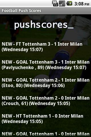 【免費運動App】Football Push Scores Lite-APP點子