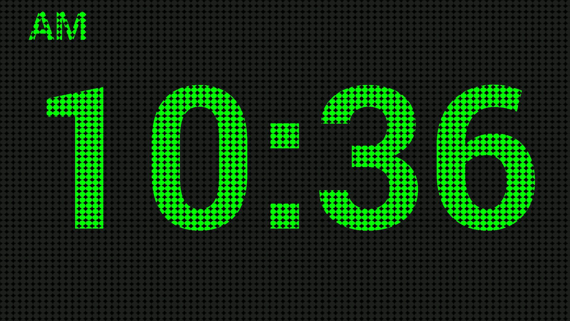 Как сделать цифровые часы