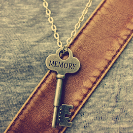 Memories are Key by Katie Gaily - Artistic Objects Jewelry ( vintage, jewlery, art, memories, key )