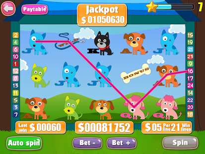 Puppy Love Slots - screenshot