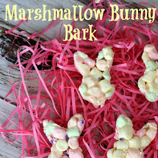 Easy Marshmallow Bunny Bark Recipe for Easter!