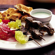 Lamb Kebabs With Peppery Lime Marinade