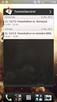 Screenshot of Unofficial Fenerbahce Widget