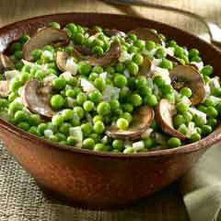 Stroganoff-style Peas & Mushrooms