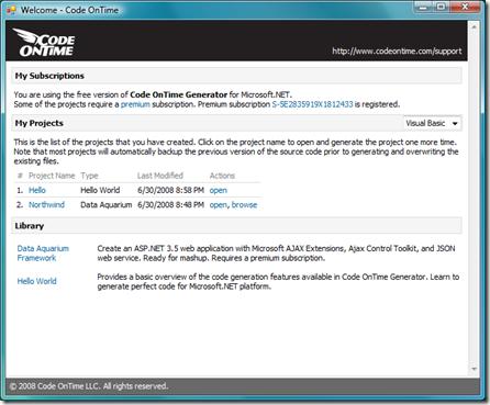 Download Code OnTime Generator now