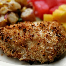 Oven-Fried Coconut Chicken