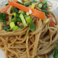 Peanut Butter and Ginger Noodles