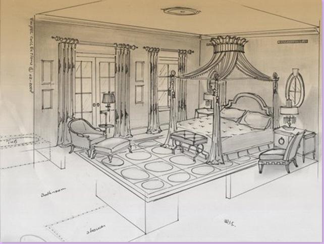 Masterbedroomrendering,3D.