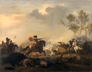RIJKS: Jan van Huchtenburg: painting 1700