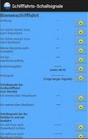 Screenshot of Schifffahrts-Schallsignale