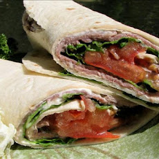 Roast Beef and Chevre Wrap (Goat Cheese)