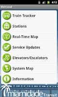 Screenshot of MDT Tracker