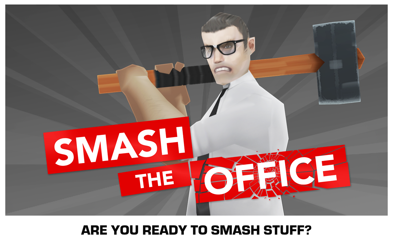 Smash the Office - Stress Fix! Screenshot 4