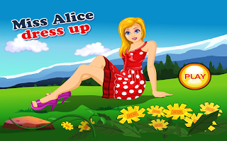 Screenshot of Miss Alice Dress Up