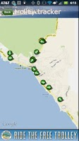 Screenshot of Visit Laguna Beach Travel Info