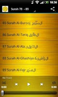 Screenshot of Saad al Ghamidi Quran MP3