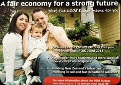 NZ budget photo