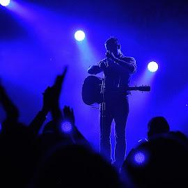 Brandon Heath by Dennis McClintock - People Musicians & Entertainers ( live performace challenge, musician, people, entertainer, entertainment,  )