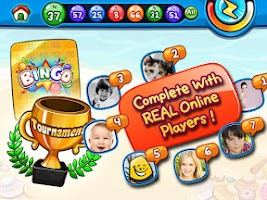 Screenshot of Bingo Tournaments