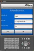 Screenshot of MLA Free Version