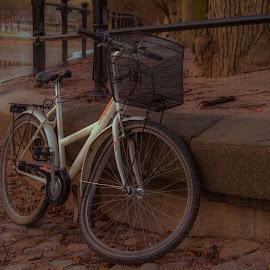 Paska satu by Bojan Bilas - Transportation Bicycles ( broken, bike, finland, turku, bicycle )