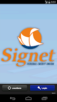 Screenshot of Signet Federal Credit Union