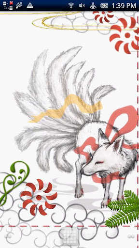 九尾の狐-躍動-