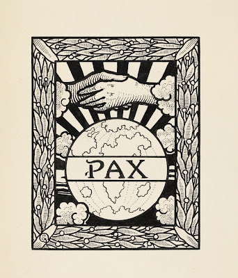 "Gisbert Combaz's (1869-1941) illustration project for the International Peace Bureau's periodical, ""The Pacifist Movement"", 1912"