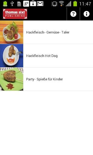 玩生活App Hackrezepte für Kinder gratis免費 APP試玩