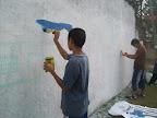 Mural en el barrio