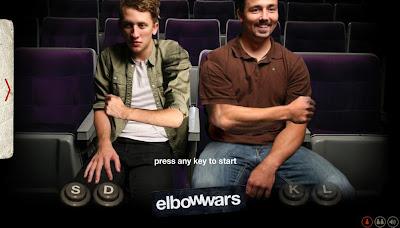 【ゲーム】「ElbowWars」肘掛けの主導権争いゲーム