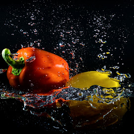 Falling by Imanuel Hendi Hendom - Food & Drink Fruits & Vegetables