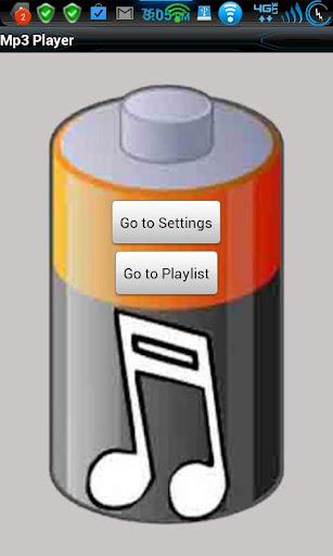 Battery Saver Mp3 Lite