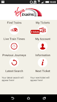 Screenshot of Virgin Trains