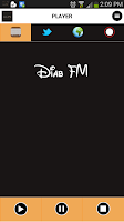 Screenshot of Diab FM Cairo