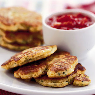 Cheesy Corn Cakes