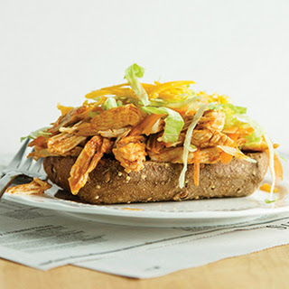 Open-Faced Buffalo Chicken Sandwiches