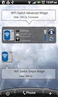 Screenshot of WiFi Switch