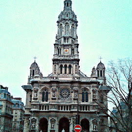Church in Paris. by Sajal Gupta - Instagram & Mobile Android