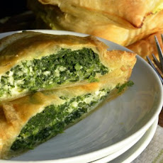 Puff Pastry Spinach Pie