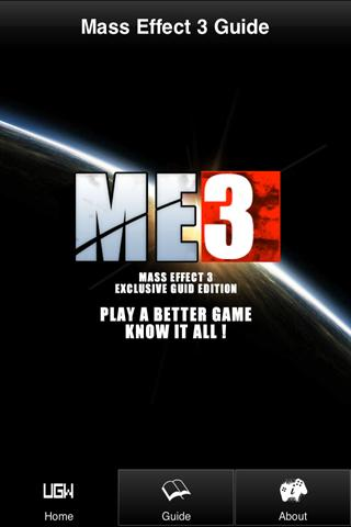 UGW's Guide to Mass Effect 3