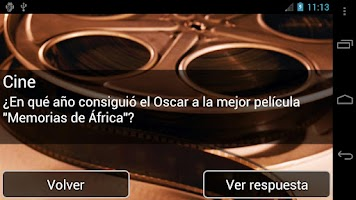 Screenshot of Preguntas de Trivial