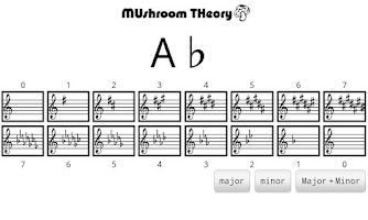 Screenshot of Key Signature Pro